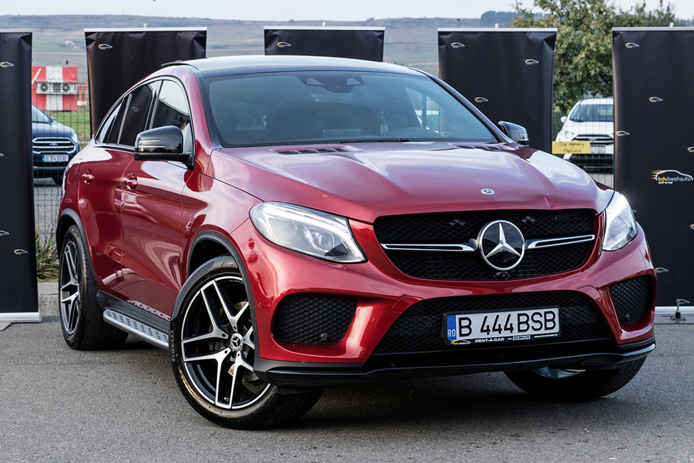 Mercedes-Benz GLE Coupe 350d 4Matic 4x4 Automatico Diesel AMG Line